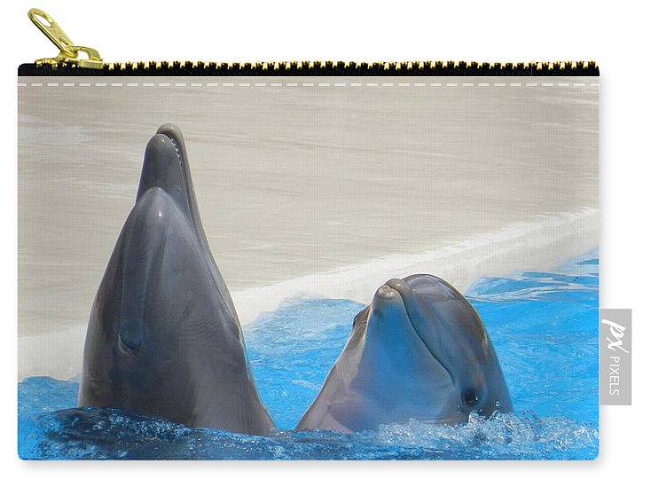 When Dolphins Dance - Carry-All Pouch