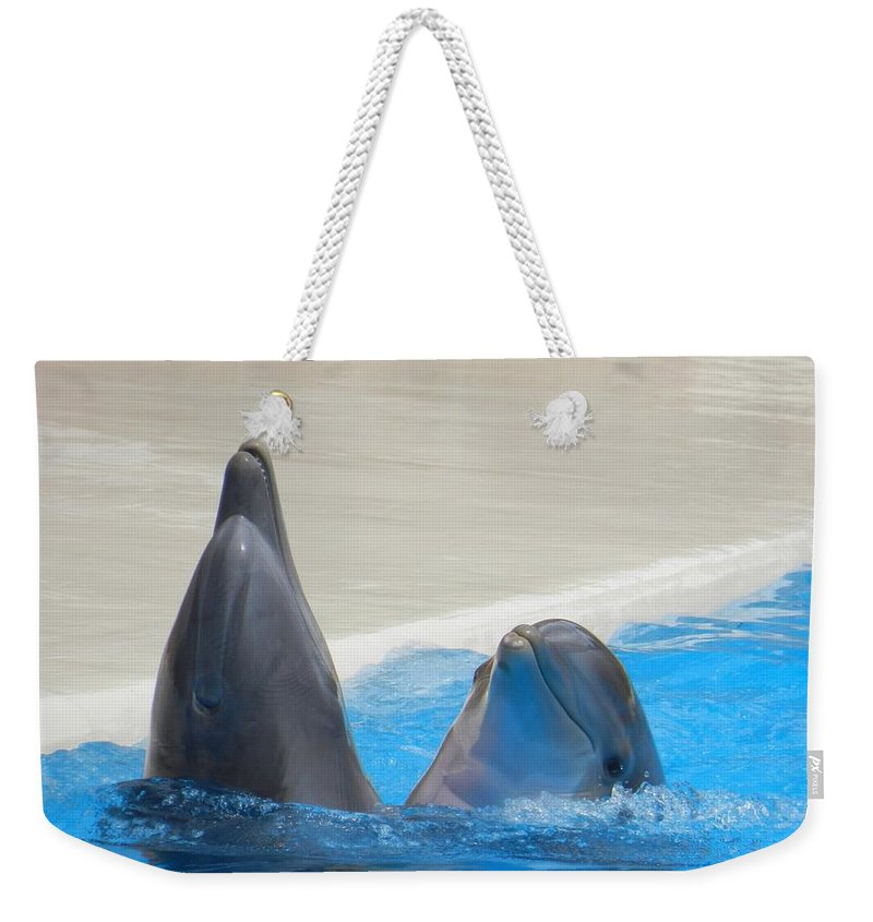 When Dolphins Dance - Weekender Tote Bag