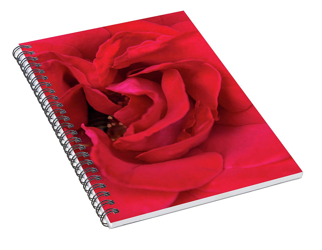 Whisper Of Passion - Spiral Notebook