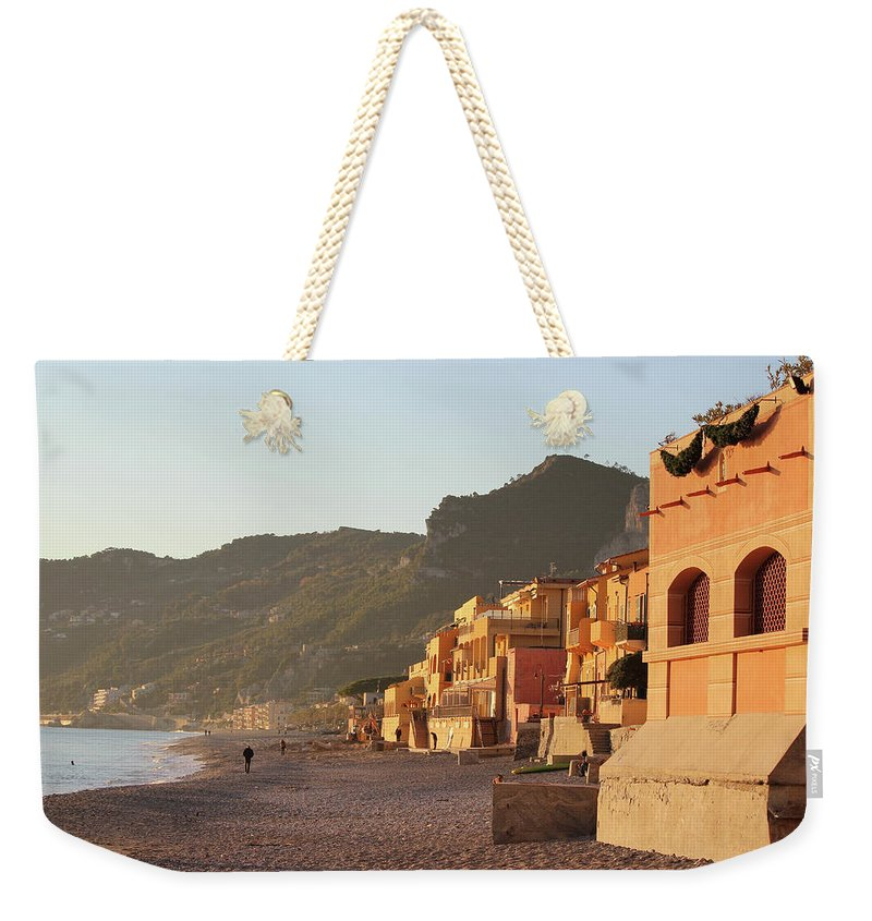 Winter Sunset - Weekender Tote Bag