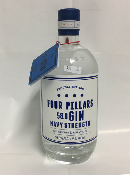 Four Pillars 58.8 % ALC.  700ml
