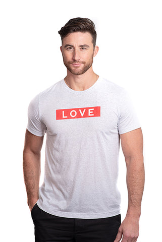 LOVE Box Logo T-Shirt Men's