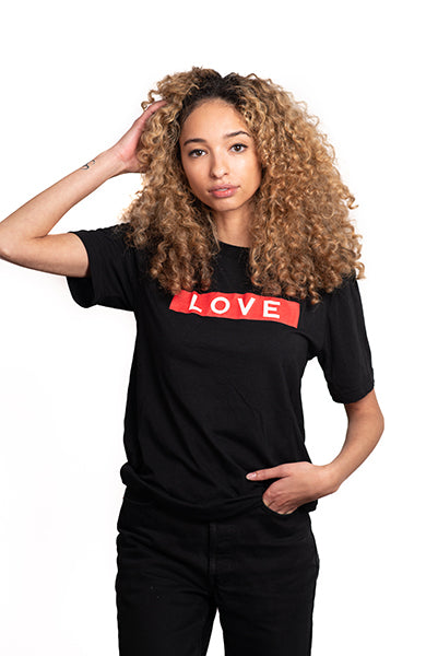 LOVE Box Logo T-Shirt Women's