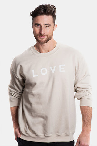 LOVE Logo Crewneck