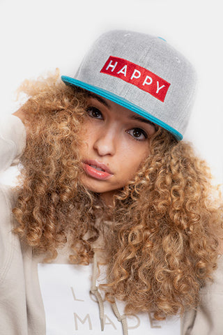 HAPPY Box Logo Snapback