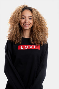 LOVE Box Logo Crewneck