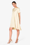 beige womens dress formal