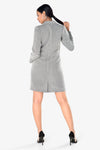 grey dress formal