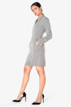 grey ladies dress