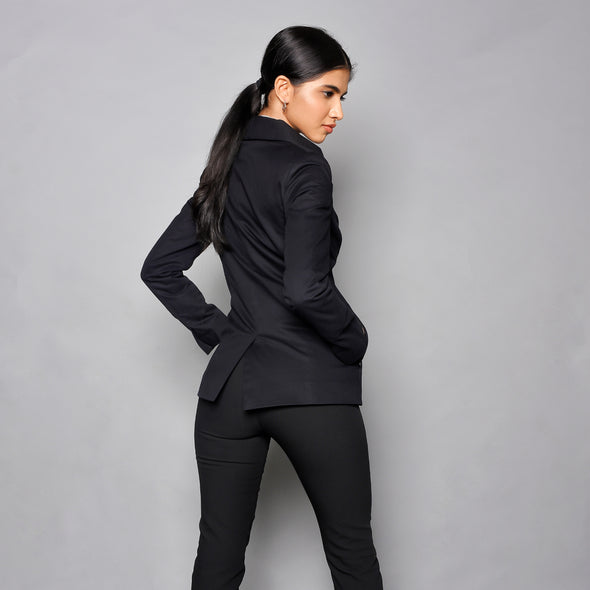 The Visionary - Classic Black Blazer