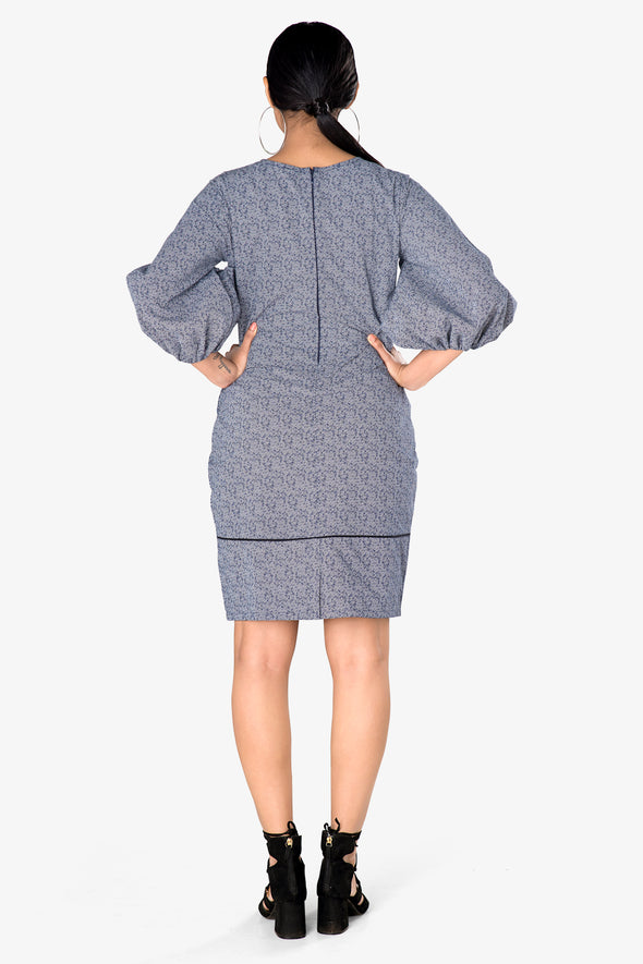 dress ladies grey