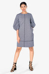 women grey dress