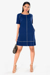 deepblue dress for women