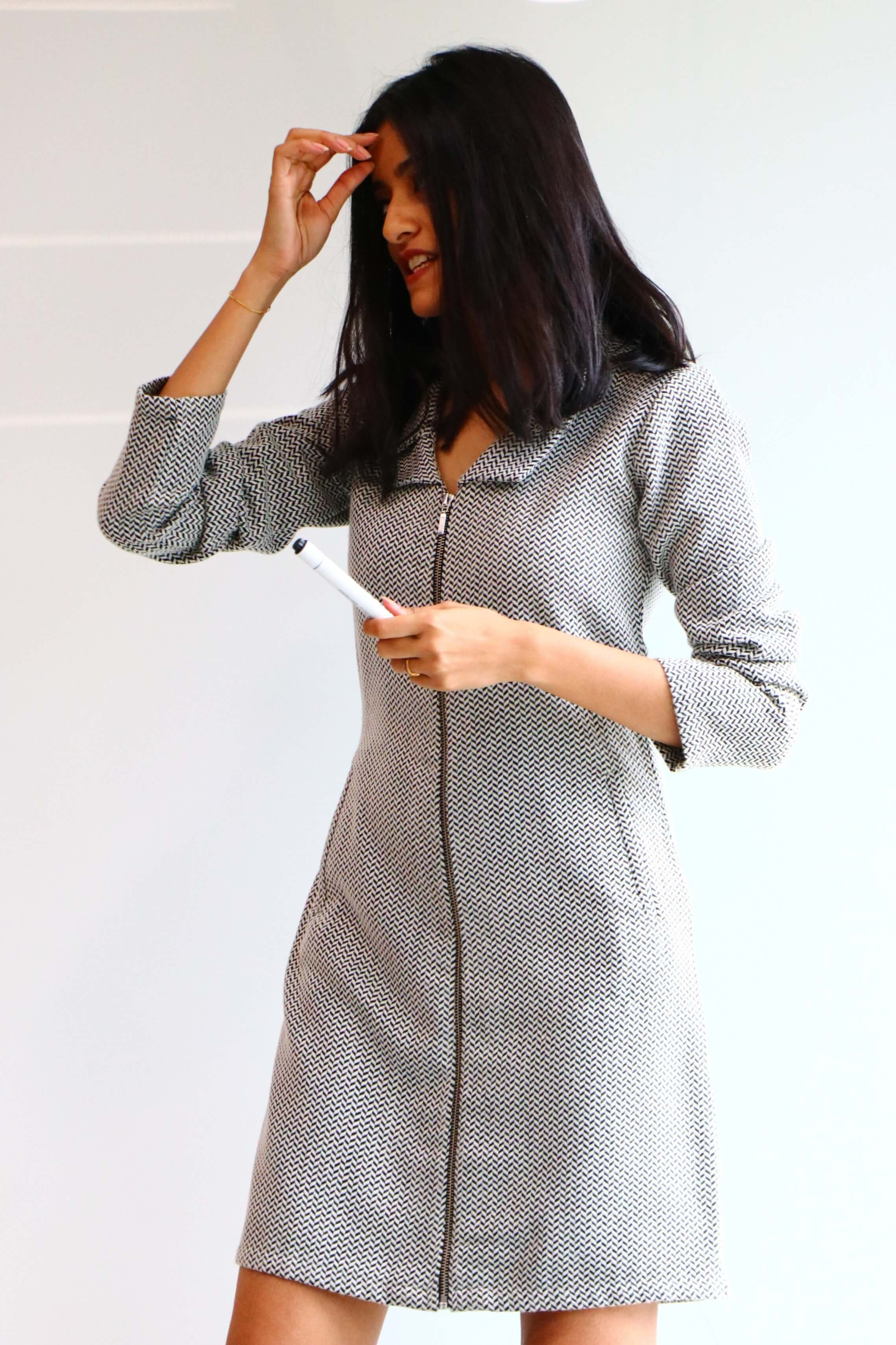 grey formals for women