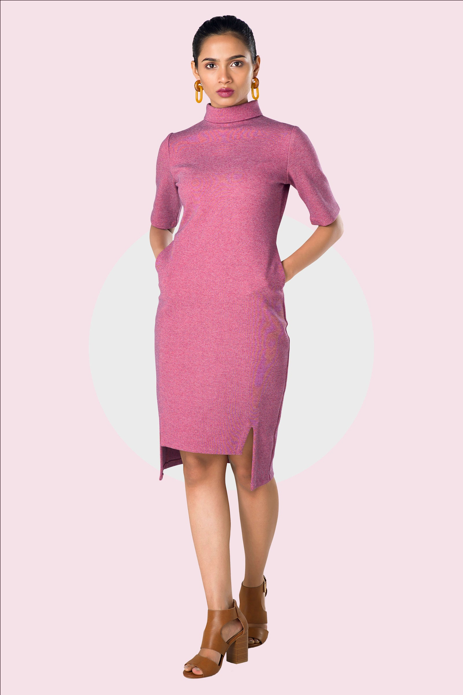 pink office cloth for women