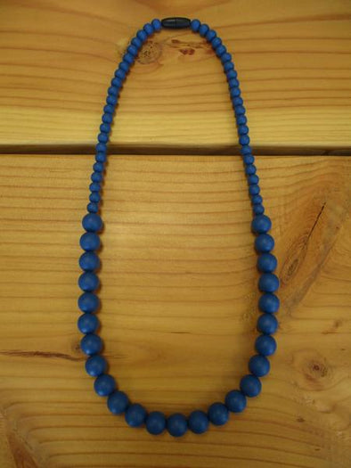 Blue Teething necklace