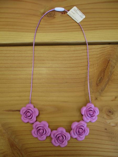 Lavender Teething necklace
