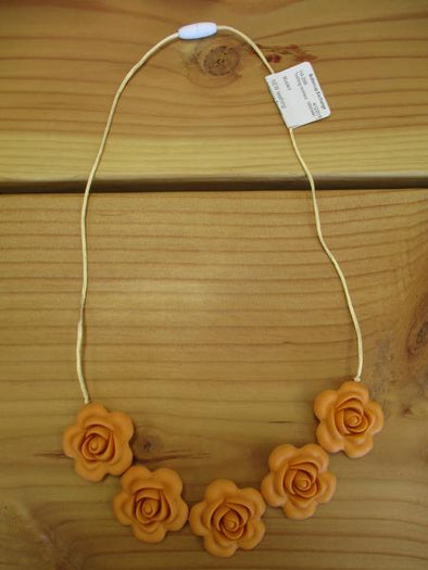 Mustard Teething necklace