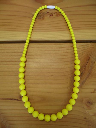 Yellow Teething necklace
