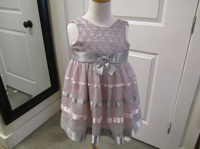 brand_bonnie baby  size_24 mos color_pink Dress