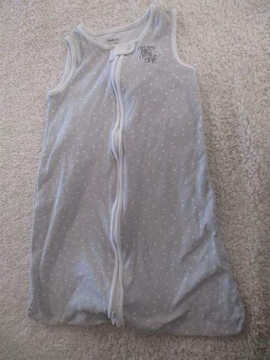 brand_carter's color_gray Sleepsack