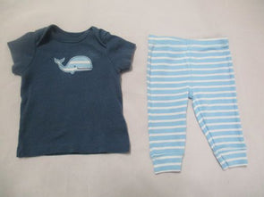 brand_carter's size_3m color_blue 2 PC ensemble