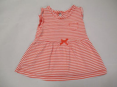 brand_carter's size_3m color_orange pattern_stripe Top