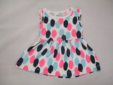 brand_carter's size_3m color_white/pink pattern_polka dot Top