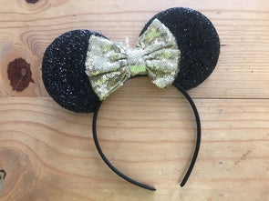 brand_disney color_black gold Headband