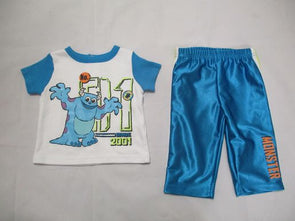 brand_disney size_3-6m color_blue 2 PC ensemble