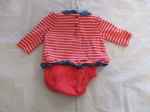 brand_gap size_0-3m color_pink Onesie loose