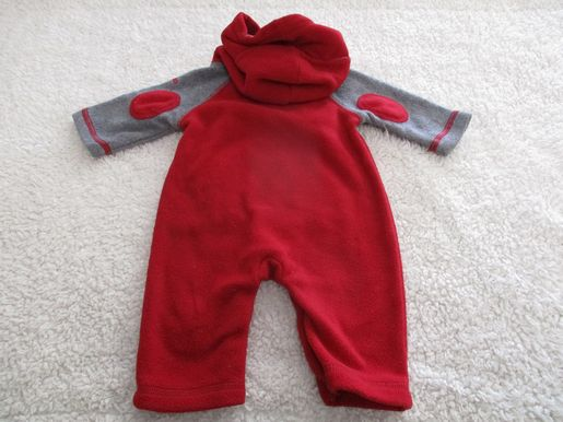 brand_gap size_0-3m color_red Onesie tight