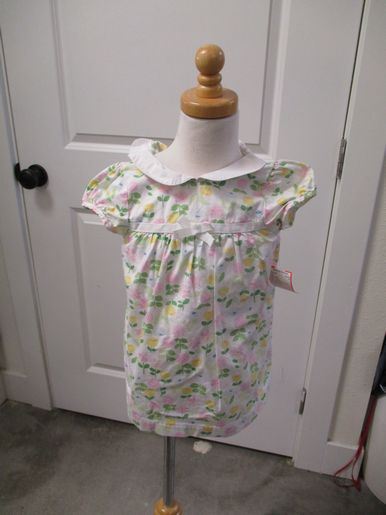 brand_gap size_12-18m color_white/pink Floral Dress