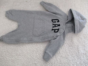 brand_gap size_3-6m color_gray Onesie tight