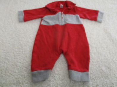 brand_gap size_3m color_red Onesie tight