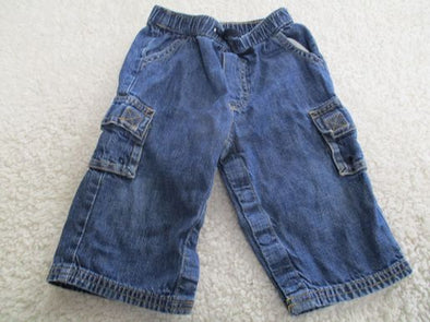 brand_gap size_6-12m color_blue Pants