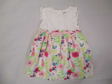 brand_gymboree size_3-6m color_white Dress