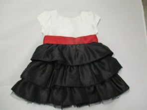 brand_gymboree size_3-6m color_white/red Dress