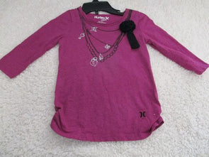brand_hurley size_6m color_purple Top