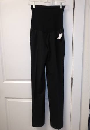 brand_pea in the pod Size size_M color_black Pants