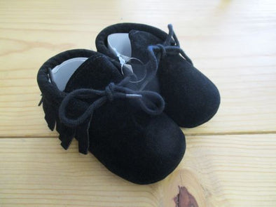 size_0-6mos color_black Shoes