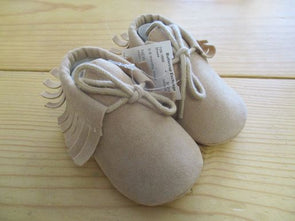 size_0-6mos color_brown Shoes