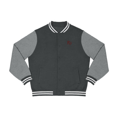 Red Crown Men's Varsity Jacket