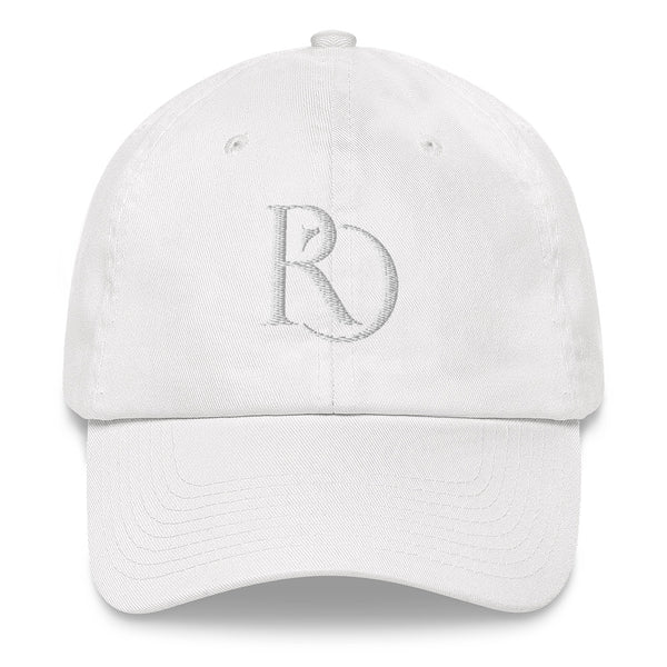 White on White Dad hat