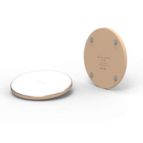 Draadloze oplader Samsung Iphone – Wireless Charger - QI lader – Draadloos opladen - 15W - Fast Charge 3.0 - Aluminium