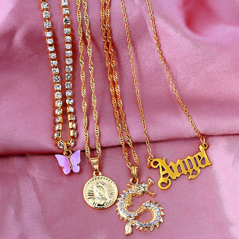 Angel Multilayer Necklaces