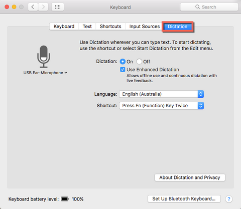 Mac OS X Dictation - Free Voice to Text - Voice Recognition - Speech Recognition for Apple Mac