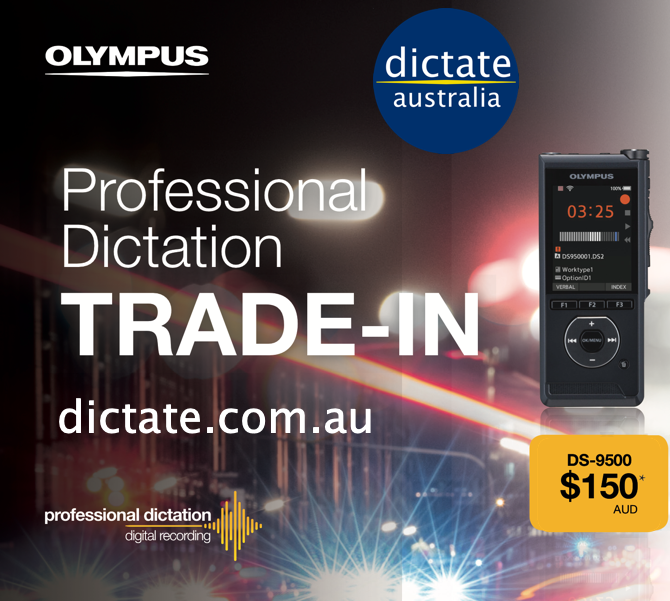 Trade In Old Voice Recorder Dictaphone Get $150 Cash Back Olympus DS9500