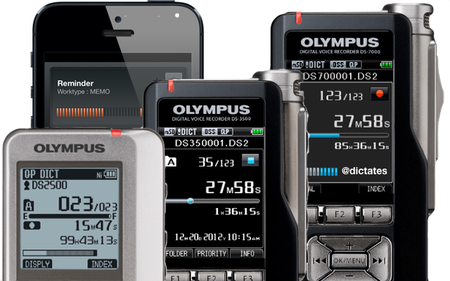 Olympus Australia Digital Dictation Dictaphone Recorders iPhone App ODDS