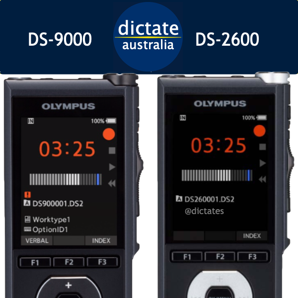 Buy Olympus DS-9000 DS-2600 digital dictaphone voice recorder Australia